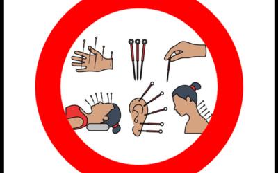 Geen acupunctuur behandelingen tot en met 20 mei 2020